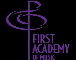 First Academy of Music Logo